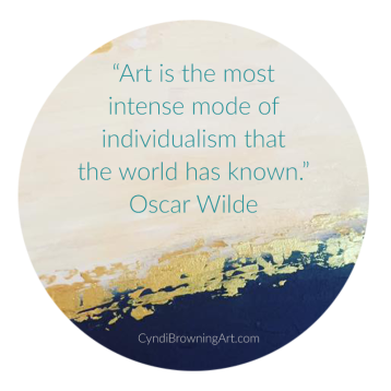 Cyndi Browning, Quote by Oscar Wilde