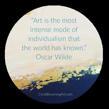 Cyndi Browning, Quote by Oscar Wilde